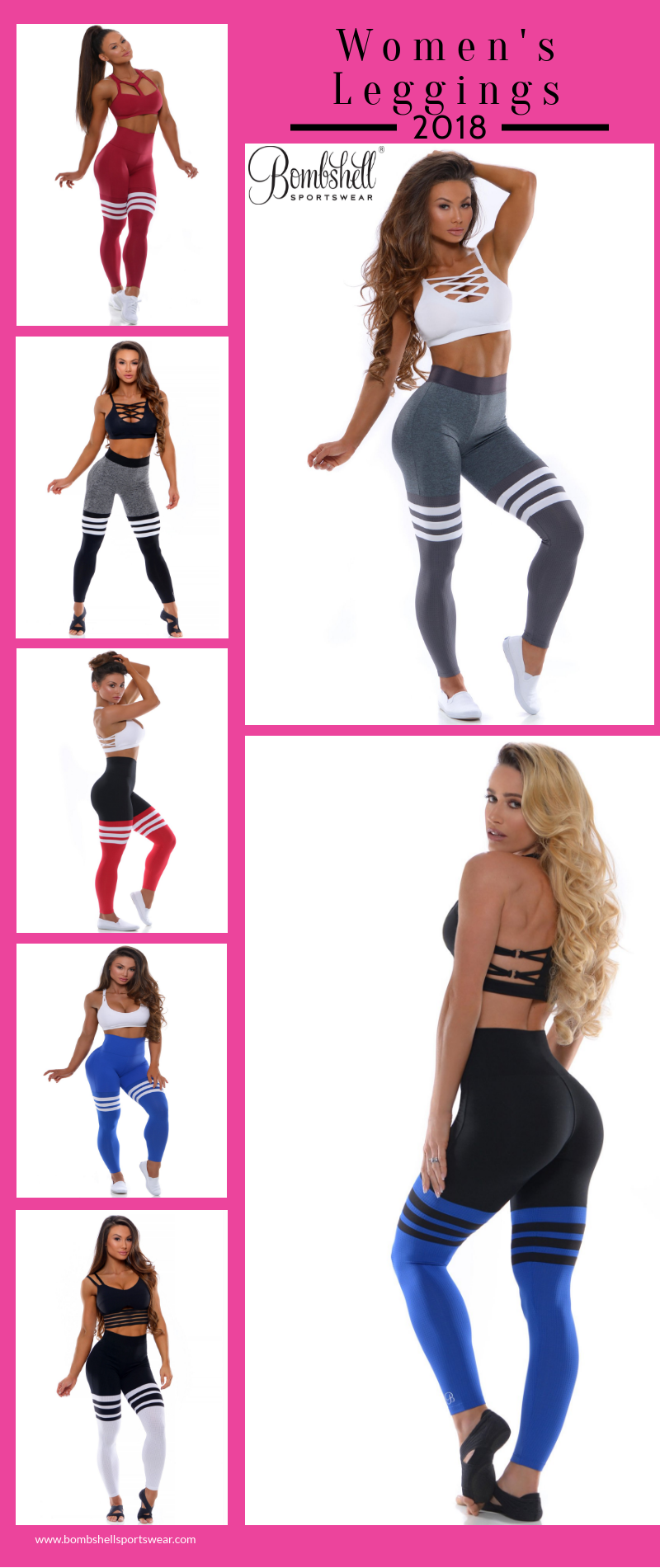 38fc16b955 Buy Womens Leggings online at best prices from Bombshell Sportswear's large  range of designs. Look fashionable with newly designed bombshell bottoms.